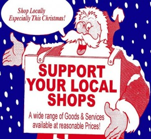 Shop locally this christmas, support your local shops